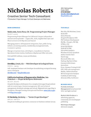 Email Full Resume